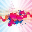 Valentines Day background — Stock Vector #18749151