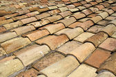 Tile roof of Rome — Stock Photo