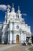 The Smolny Cathedral — Stock Photo