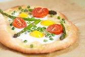 Spring pizza — Stock Photo