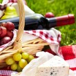 Romantic picnic basket — Stock Photo #19341859