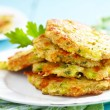 Vegetable pancakes — Stock Photo