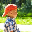 Little boy in the park — Stock Photo