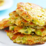 Vegetable pancakes — Stock Photo