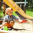 Child on playground — Stock Photo #22727489
