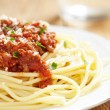 Spaghetti bolognese — Stock Photo #24286173