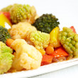 Stock Photo: Vegetable stir fry
