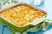 Macaroni and cheese — 图库照片