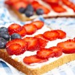 American flag toast — Stock Photo #26207141