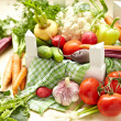 Fresh Vegetables in Box — Stock Photo #26207423