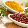 Stock Photo: Spices. Aromatic ingredients
