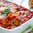 Cannelloni with spinach and ricotta — Stock Photo #29980091