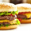 Stock Photo: Classic Burgers