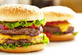 Classic Burgers — Stock Photo