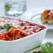 Cannelloni with spinach and ricotta — Stock Photo