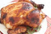 Pollo asado entero — Foto de Stock
