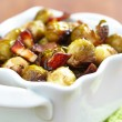 Brussels sprouts with bacon — Stock Photo #35159017