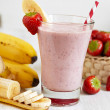 Strawberry Banana Smoothie — Stock Photo #36135217