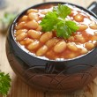 Stock Photo: Baked beans