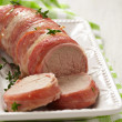 Tenderloin wrapped bacon — 图库照片 #38714467