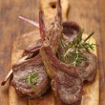 Roasted lamb chops — Stock Photo #39581313