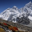 Stock Photo: Mt. Everest 8848 m.
