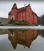 Castle Červená Lhota — Stock Photo