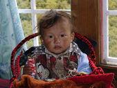 Tibetan children — 图库照片