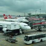 Istanbul airport — Stock Photo