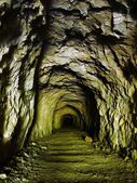 Old mining tunnel. — Stock Photo