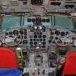 Cockpit Ilyushin IL 18 — Stock Photo