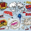 Comic book - words - Imagen vectorial