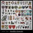 Royalty-Free Stock Imagen vectorial: Heraldic elements