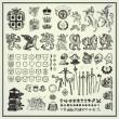 heraldische elemente — Stockvektor