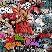 Graffiti striit art — Stock Vector