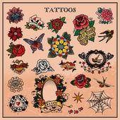 Tattoos — Stock Vector