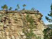 Cliffhanger — Zdjęcie stockowe