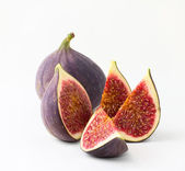 Figs on a white background — Stock Photo