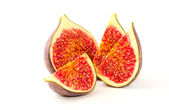 Slices of fig — Stock Photo