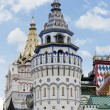 Towers west side Izmailovo Kremlin — Stock Photo