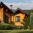 Stock Photo: Cottage exterior