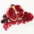 Stock Photo: Pomegranate and chestnuts