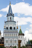 Square tower Izmailovo Kremlin — Foto Stock