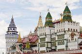 Central entrance Izmailovo Kremlin — Stock Photo