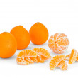 Still life of mandarins — Stock Photo