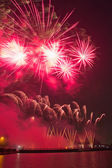 International Fireworks Festival — Stock Photo