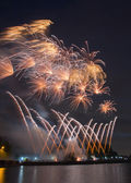 International Fireworks Festival — ストック写真