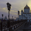 cathedral of christ the savior — Stock Photo #39997493