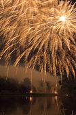 Moscow International Festival of fireworks — Stock Photo