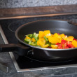 Vegetables in a pan — Stock Photo